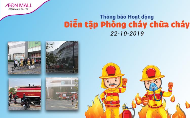Fire Drills at AEON MALL Binh Tan