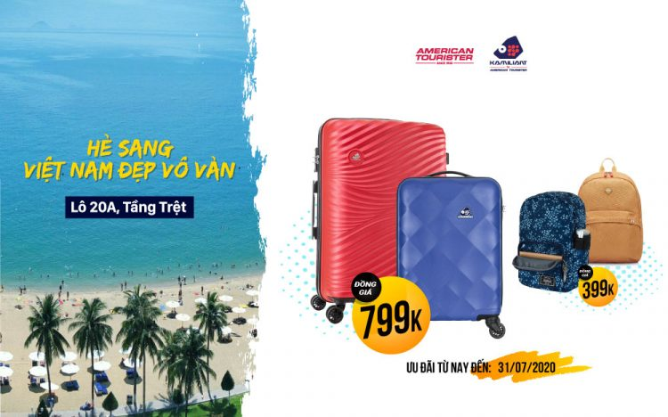 SUMMER IS HERE, VIET NAM IS AMAZINGLY BEAUTIFUL  🌹 Travel across the country with luggage only 799K, backpack only 399K