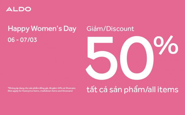 ALDO – LET'S CELEBRATE WOMEN'S DAY