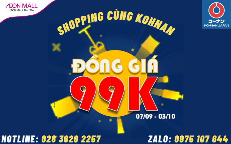 SHOPPING WITH KOHNAN JAPAN – ONLY 99,000VND